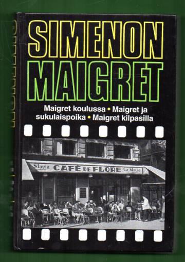 Maigret koulussa, Maigret ja sukulaispoika & Maigret kilpasilla - Komisario Maigret'n tutkimuksia