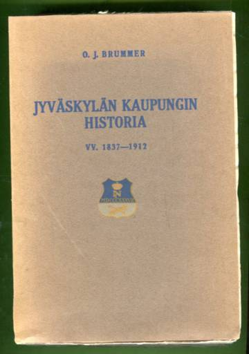 Jyväskylän kaupungin historia - Vv. 1837-1912