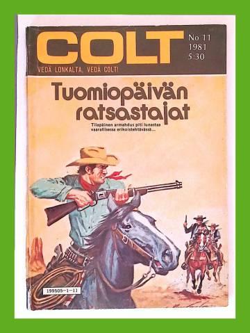 Colt 11/81 - Tuomiopäivän ratsastajat
