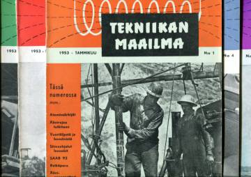 Tekniikan maailma -vuosikerta 1953 (numerot 1-12)