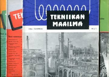 Tekniikan maailma -vuosikerta 1954 (numerot 1-12)