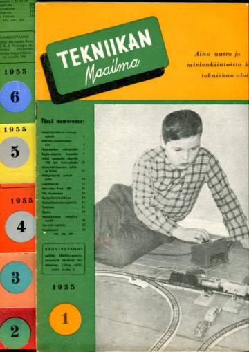 Tekniikan maailma -vuosikerta 1955 (numerot 1-12)