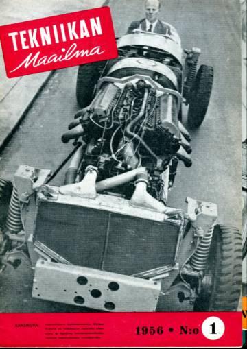 Tekniikan maailma -vuosikerta 1956 (numerot 1-12)