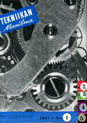Tekniikan maailma -vuosikerta 1957 (numerot 1-13)