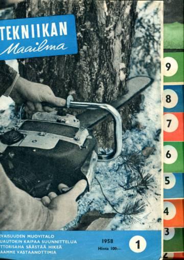 Tekniikan maailma -vuosikerta 1958 (numerot 1-12)