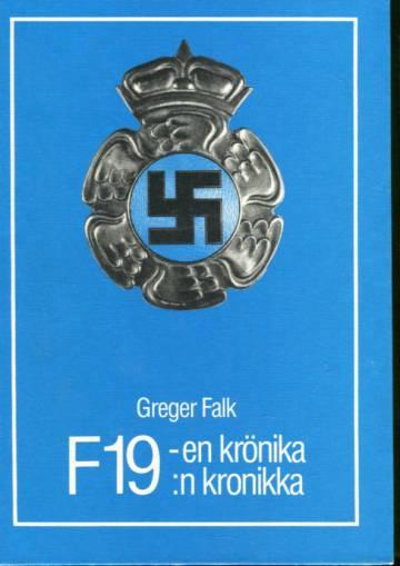 F19:n kronikka - Ruotsalainen vapaaehtoinen lentorykmentti Suomen talvisodassa 1939-1940