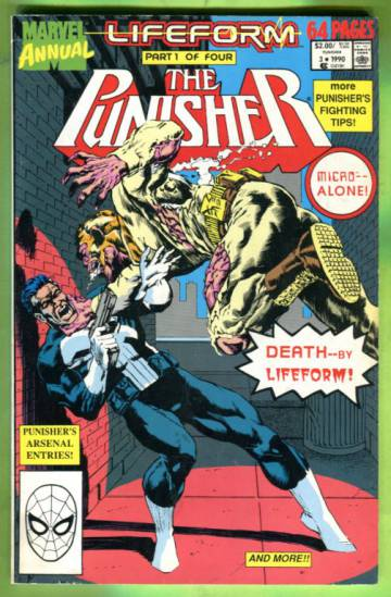 The Punisher Annual Vol. 1 #3 90