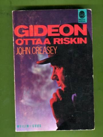 Gideon ottaa riskin (Musta kissa -sarja 10)