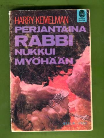 Perjantaina rabbi nukkui myöhään (Musta kissa -sarja 11)