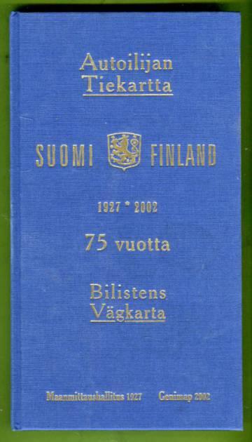 Autoilijan tiekartta 75 vuotta 1927-2002