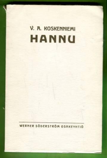 Hannu - Erään nuoruuden runoelma