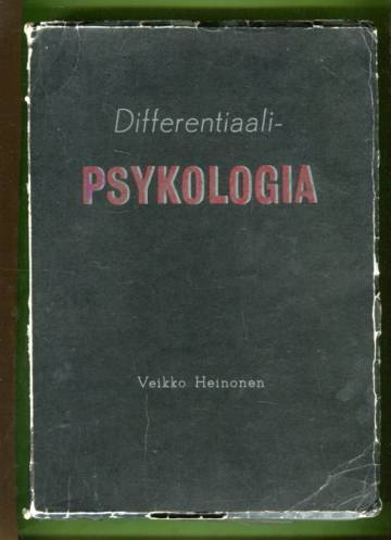 Differentiaalipsykologia