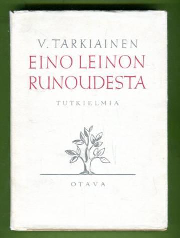 Eino Leinon runoudesta - Tutkielmia