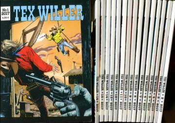 Tex Willer -vuosikerta 2017 (1-16)