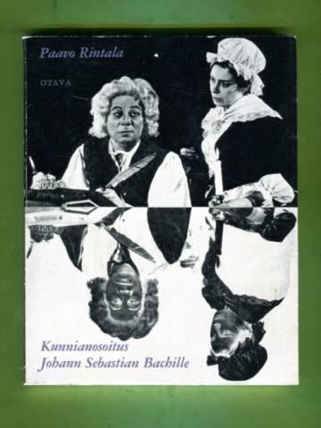 Kunnianosoitus Johann Sebastian Bachille - Näytelmänä
