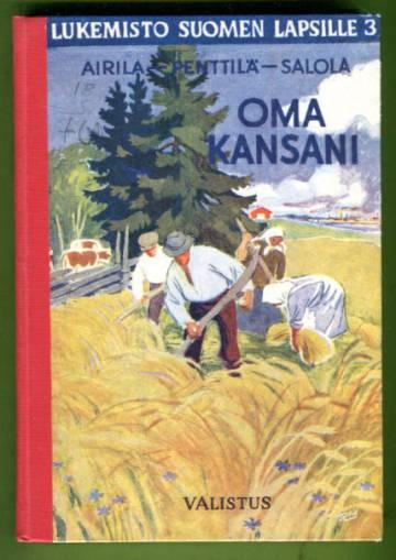 Lukemisto Suomen lapsille 3 - Oma kansani