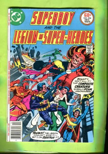Superboy and the Legion of Super-heroes Vol 29 #234 Dec 77