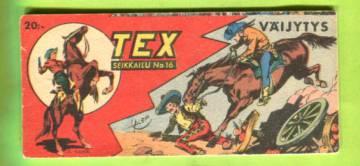 Tex 16/55 - Väijytys (Tex Willer, 3. vuosikerta)