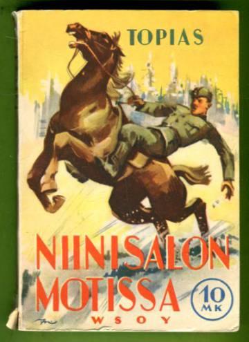 Niinisalon motissa - Kevyt romaani RUK:n ensimmäisen sotakurssin ajalta v. 1940