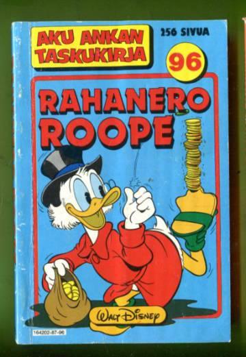 Aku Ankan taskukirja 96 - Rahanero Roope (1.painos)