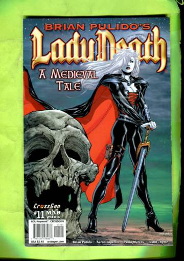 Brian Pulido´s Lady Death: A Medieval Tale Vol 1 #11 Mar 04