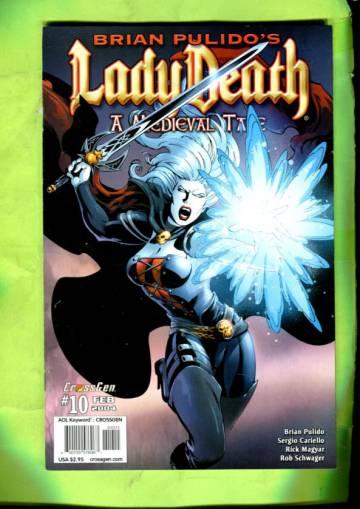 Brian Pulido´s Lady Death: A Medieval Tale Vol 1 #10 Feb 04