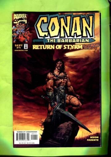 Conan: Return of Styrm Vol 1 #1 Sep 98