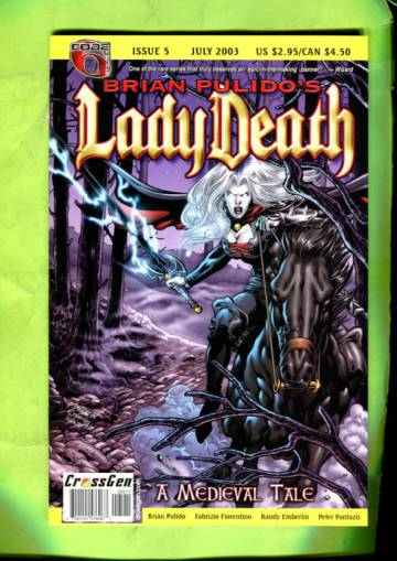 Brian Pulido´s Lady Death: A Medieval Tale Vol 1 #5 Jul 03