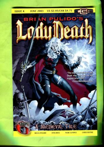 Brian Pulido´s Lady Death: A Medieval Tale Vol 1 #4 Jun 03