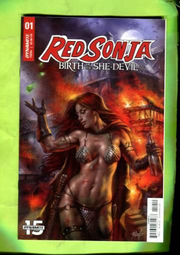 Red Sonja: Birth of the She-Devil Vol 1 #1 16