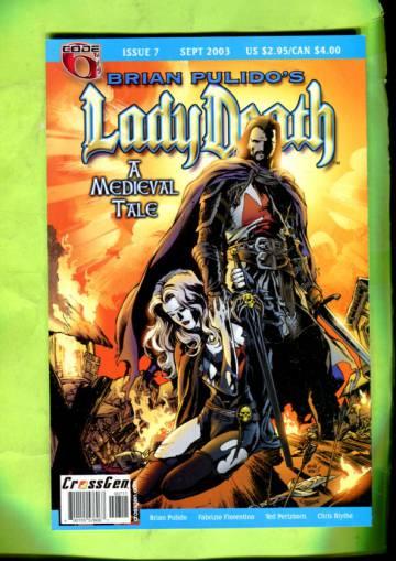 Brian Pulido´s Lady Death: A Medieval Tale Vol 1 #7 Sep 03