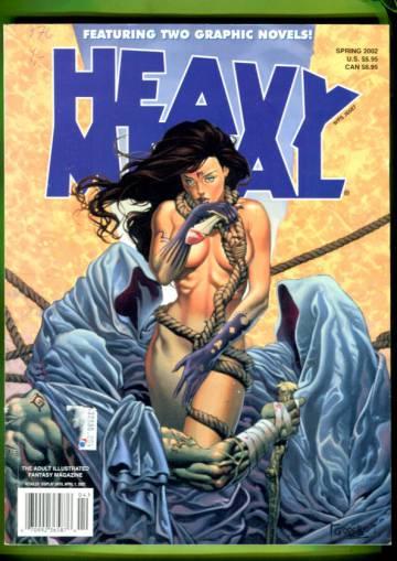 Heavy Metal: Diabolik Special Vol 16 #1 Spring 02