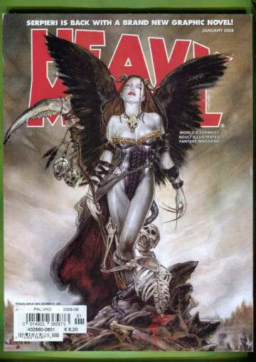 Heavy Metal Vol XXXI #6 Jan 08