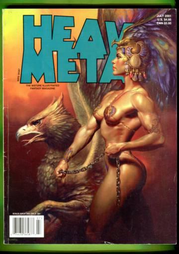 Heavy Metal Vol XXV #3 Jul 01