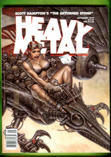 Heavy Metal Vol XVII #4 Sep 93