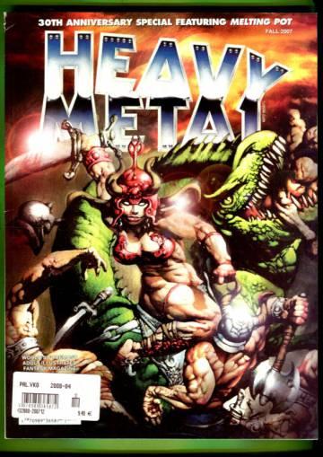 Heavy Metal 30th Anniversary Special Vol XXI #3 Fall 07