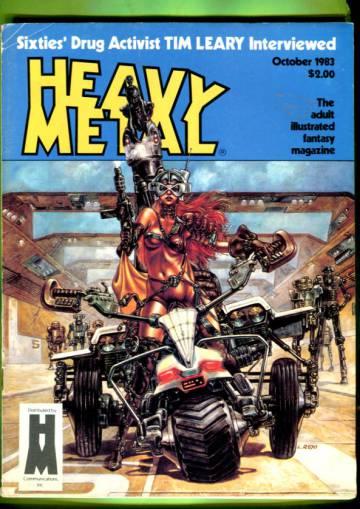 Heavy Metal Vol. VII #7 Oct 83