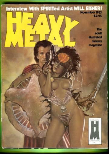 Heavy Metal Vol. VII #8 Nov 83