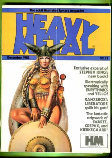 Heavy Metal Vol. VII #9 Dec 83