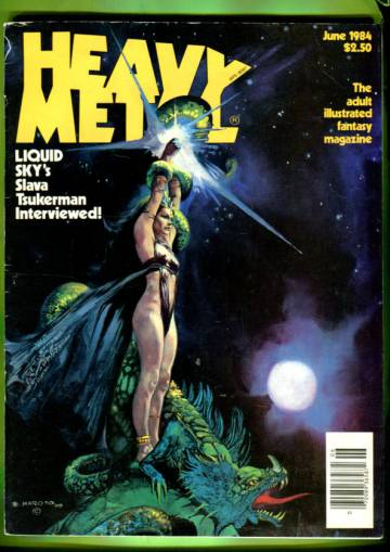 Heavy Metal Vol. VIII #3 Jun 84