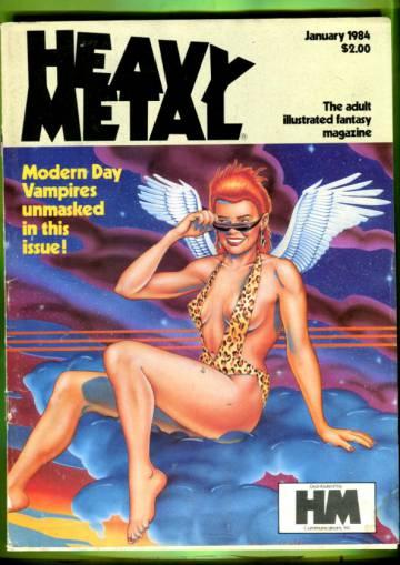 Heavy Metal Vol. VII #10 Jan 84