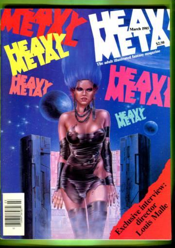 Heavy Metal Vol. VIII #12 Mar 85