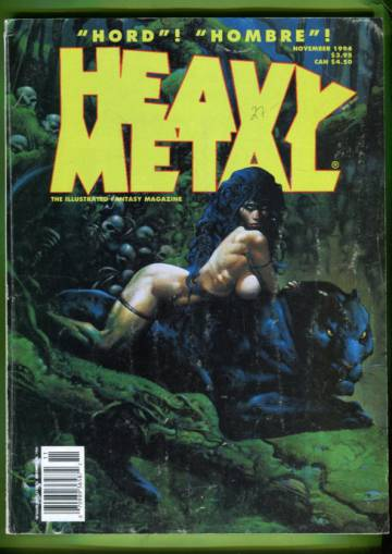 Heavy Metal Vol. XVIII #5 Nov 94