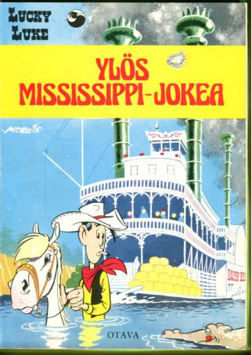 Lucky Luke 35 - Ylös Mississippi-jokea