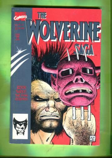 Wolverine Saga Vol. 1 #3 Dec 89