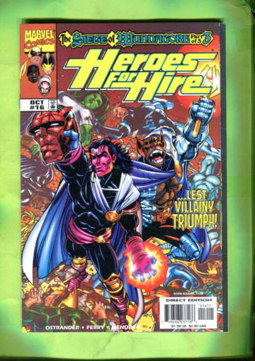 Heroes for Hire Vol 1 #16 Oct 98