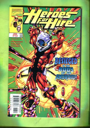 Heroes for Hire Vol 1 #13 Jul 98