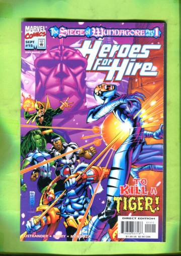 Heroes for Hire Vol 1 #15 Sep 98
