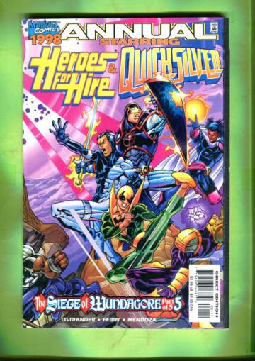 Heroes for Hire / Quicksilver Annual 98
