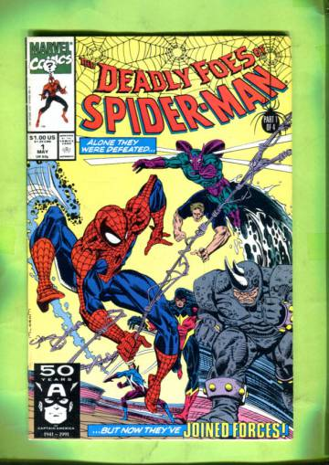 Deadly Foes of Spider-Man Vol 1 #1 May 91